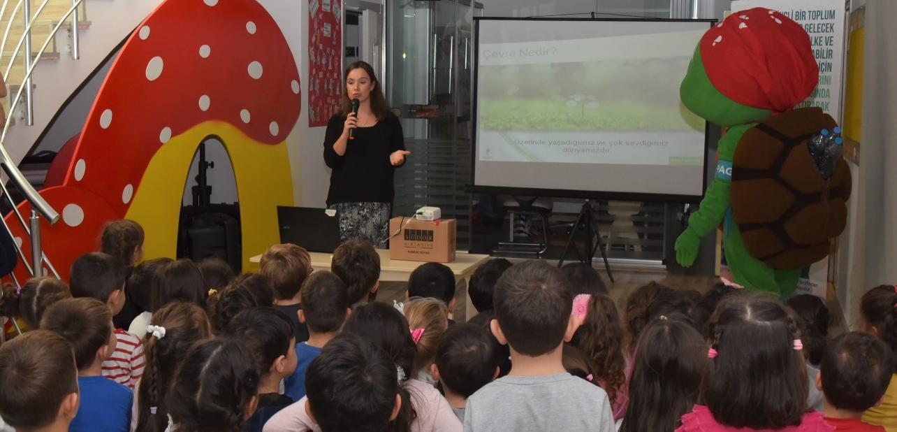 TOKİ Nilüfer Anaokulu Öğrencilerine Geri Dönüşüm Eğitimi